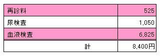 2010.06.12 ユキの診療明細書