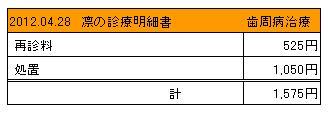 2012.04.28診療明細書【凛】