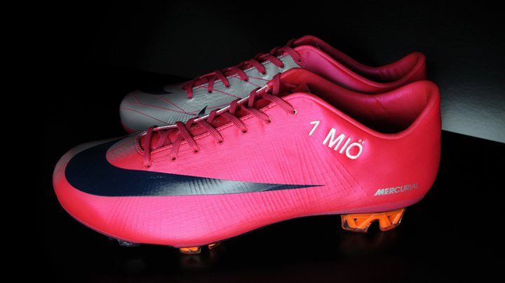 Mercurial Vapor shoes