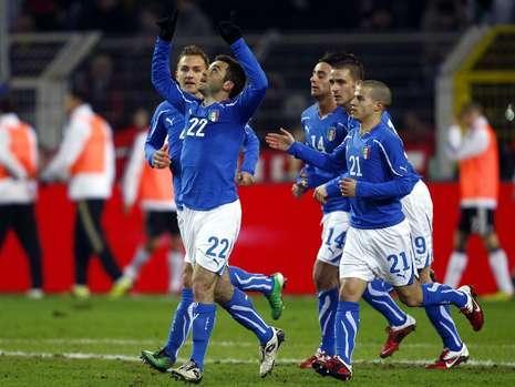 イタリア!同点!