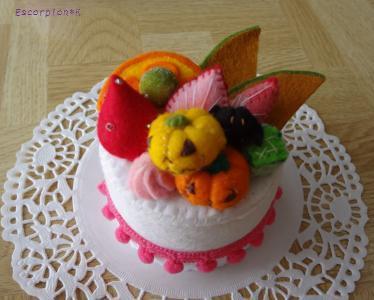 ハロウィンケーキ3