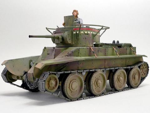 ソ連 BT-5 快速戦車 (ズベズダ)