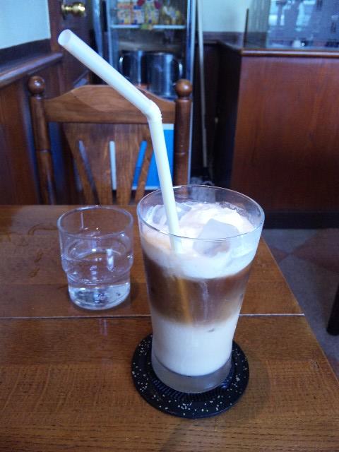黒糖アイスカフェオレ