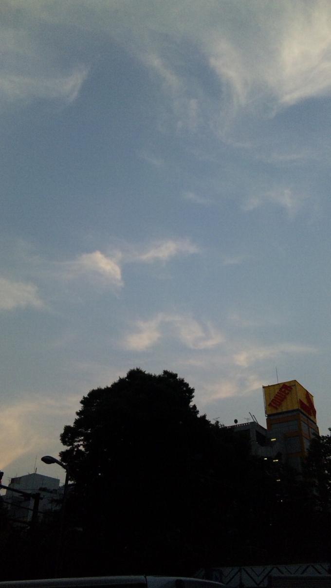 Sky In Shibuya_20100818