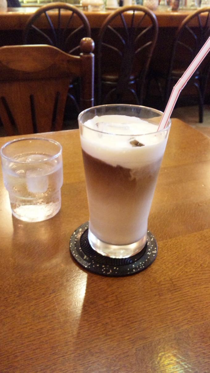 黒糖アイス・カフェ・オ・レ_20100923