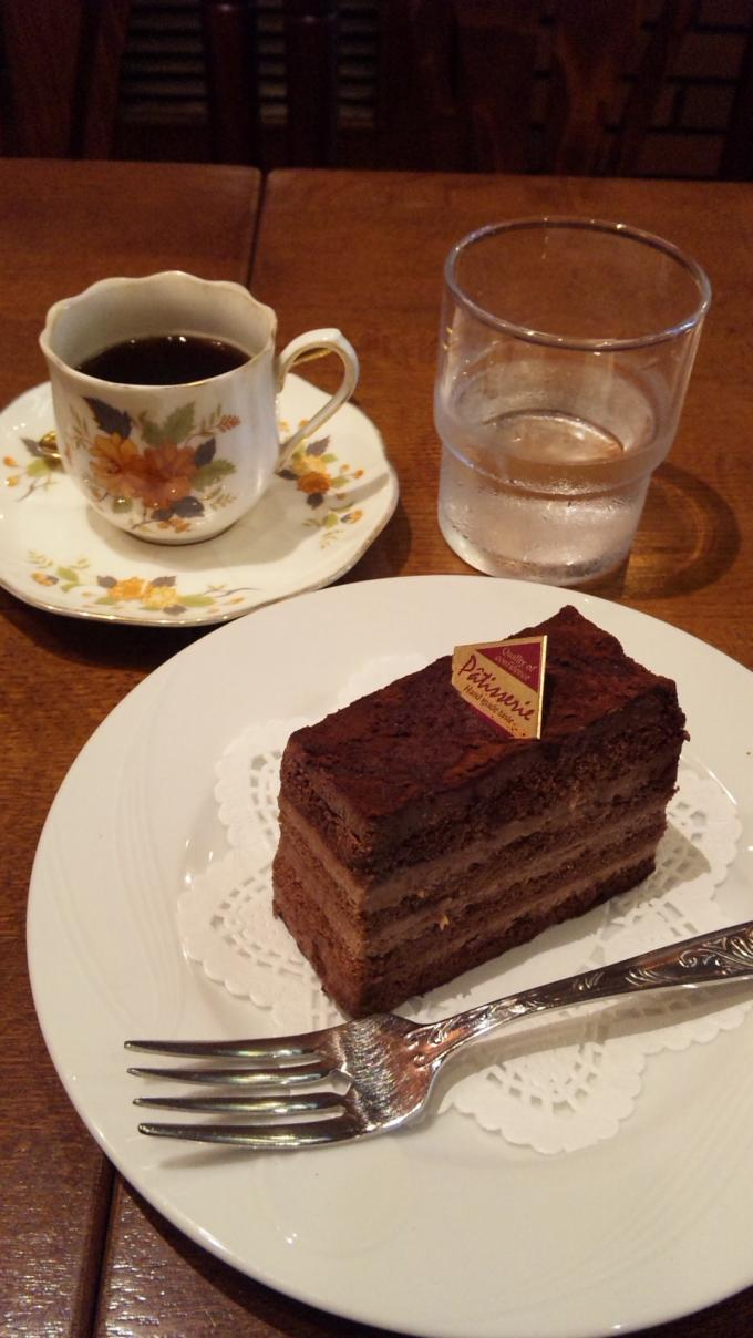 エスプレッソ&チョコケーキ_20100927