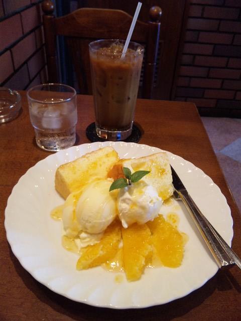 オレンジ・シフォンケーキ・セット_20101002