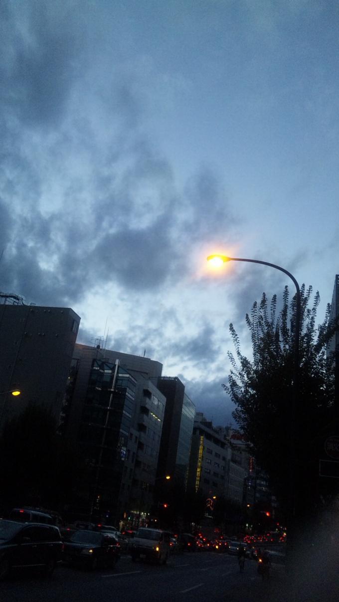 新宿の空_20101123