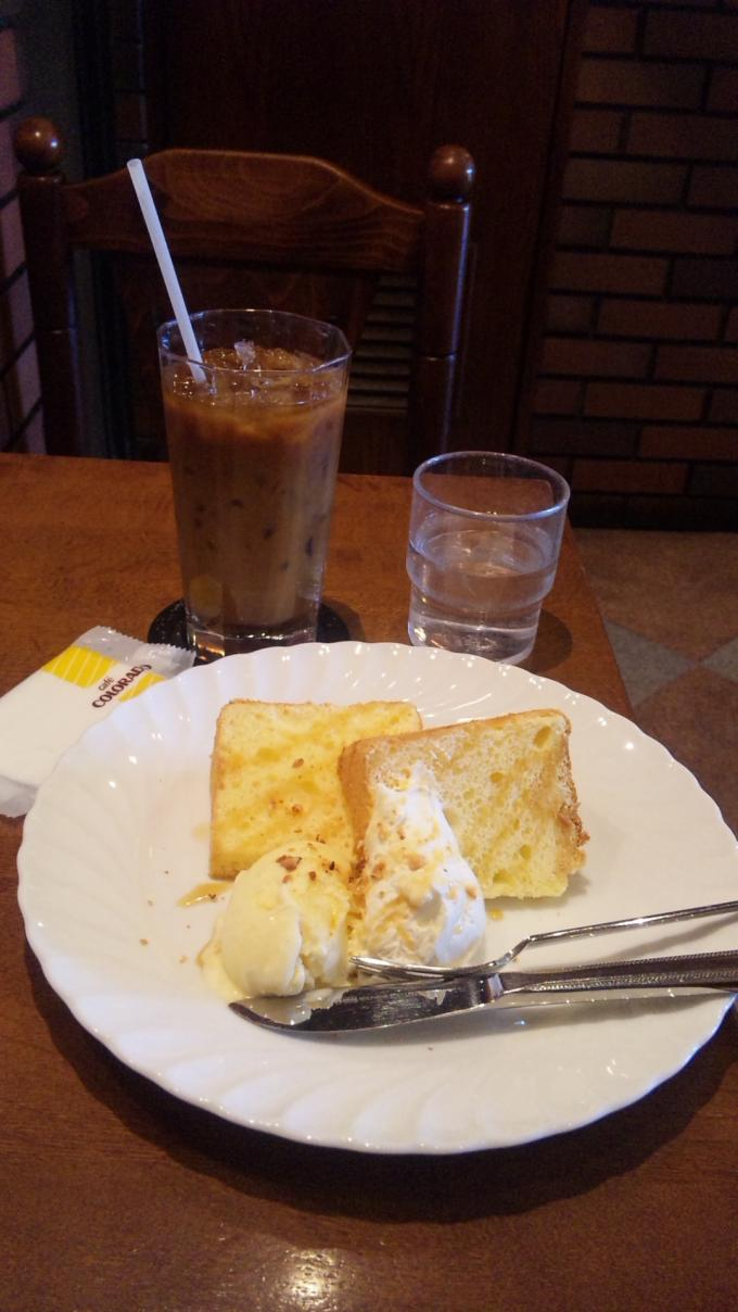 Caramel Ciffon Cake_20101130