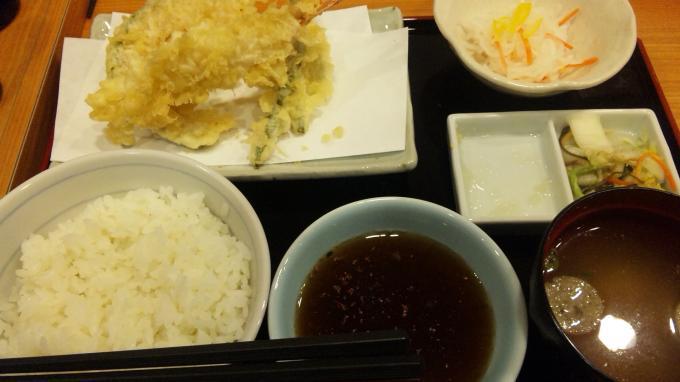天ぷら定食_20101202