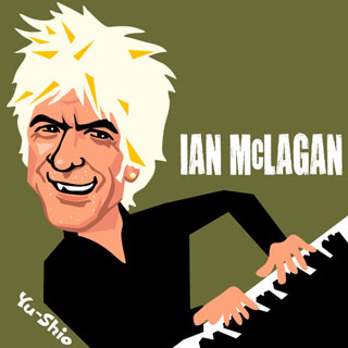 Ian Mac McLagan caricature
