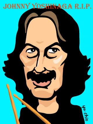 ジョニー吉長 caricature