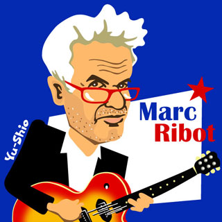 Marc Ribot caricature