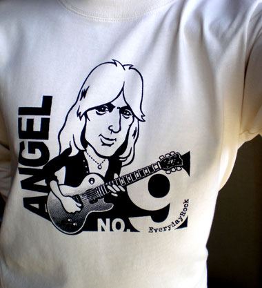 EverydayRock T Shirt Mick Ronson Caricature
