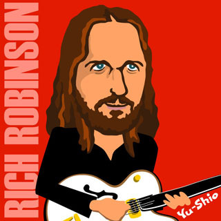 Rich Robinson Black Crowes caricature