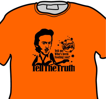 Eric Clapton Derek & The Dominos EverydayRock T Shirt Caricature