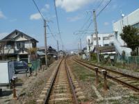 JR紀勢線(きのくに線)紀三井寺駅付近