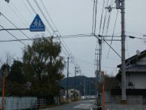 街路灯が無い横断歩道