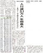 4月18日の高知新聞の記事