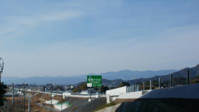 香南かがみインターチェンジ出口予告標識設置イメージ