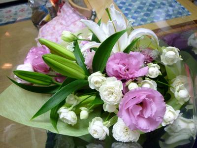 嬉しい花束!!!