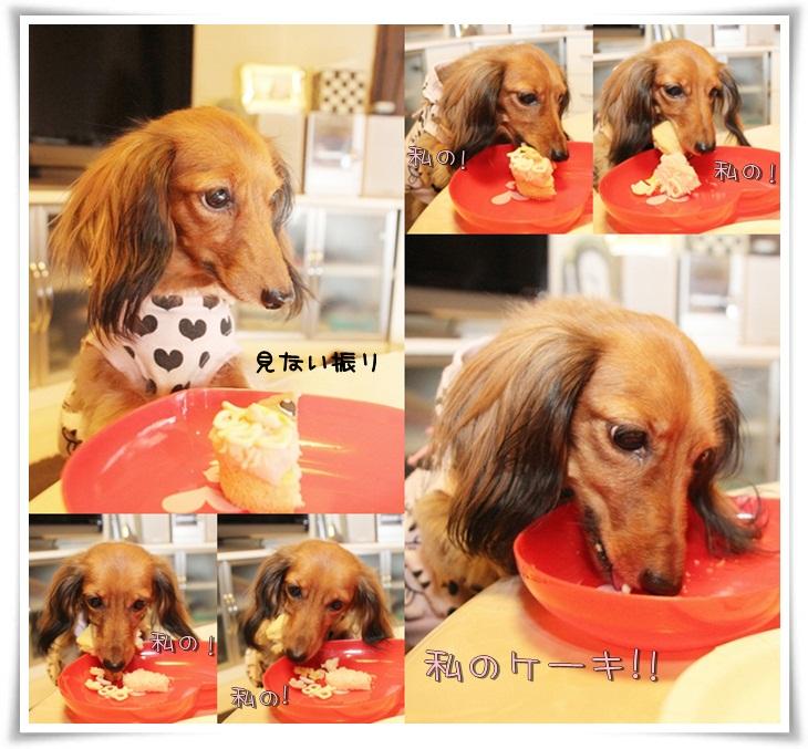 私のケーキ!
