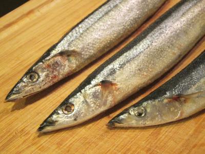 秋の味覚 秋刀魚-4, 2014-10-14