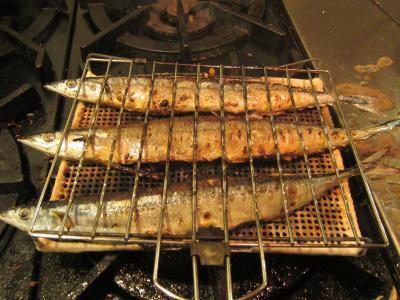 秋の味覚 秋刀魚-2, 2014-10-14