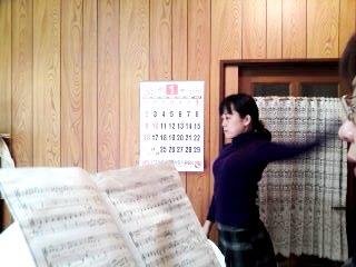 2011 初レッスン 岡ちゃん