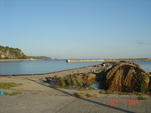 椿漁港の初の所