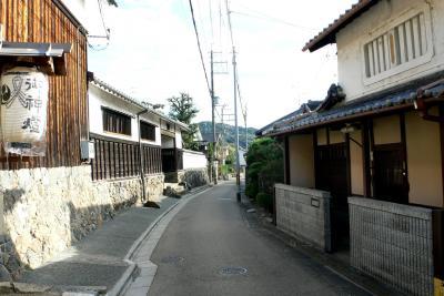 三室戸寺への道