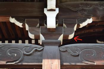 三室戸寺本堂組物