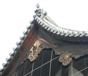 懸魚(三十三間堂南大門)