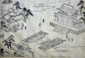 都名所図会のうち大徳寺