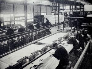 『京都名勝誌』より西陣織製造状況