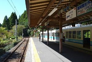 叡電鞍馬駅