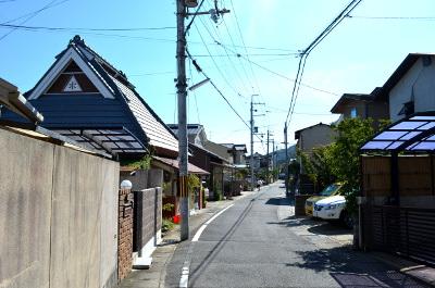 松尾大社への道