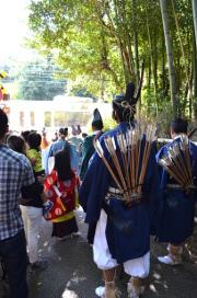 野宮神社の斎宮行列(準備)