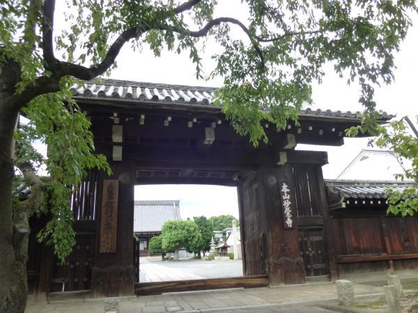 妙覚寺大門