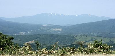 ニセコ連山?