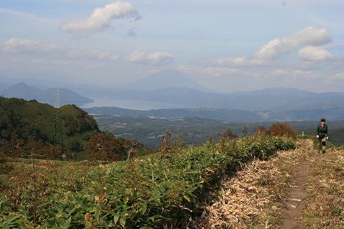 前紋別岳からの眺望101002