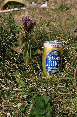 前紋別岳山頂101002