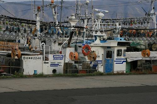 イカ釣り船101106