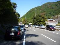 谷川の渋滞