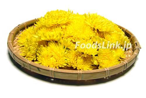 安房宮系 黄色の食用菊