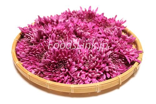 もってのほか もって菊 紫の食用菊