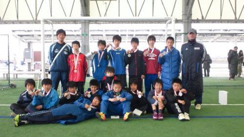 第5回卒業記念サッカー大会MUFGカップ 準優勝!