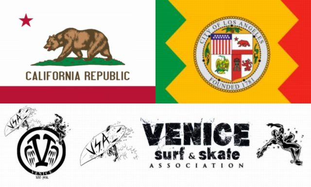 640-Flag_of_California_la venice