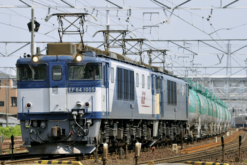 3084レ EF64-1005+1006号機