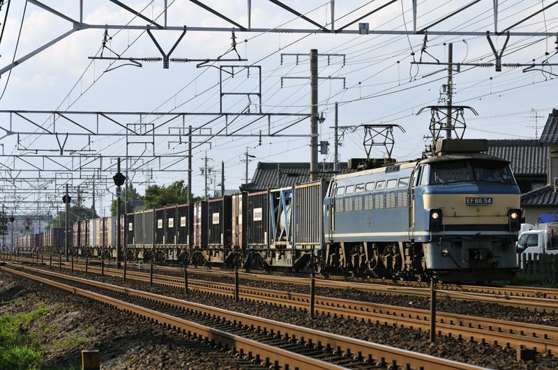 2070レ EF66-54号機